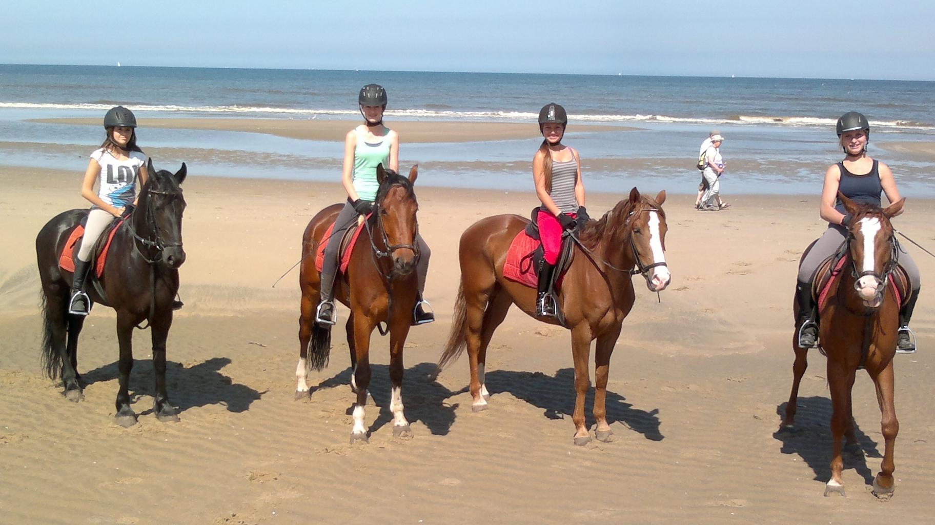 strandrit te paard noordwijk
